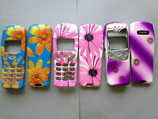 MOBILE PHONE FASCIA / HOUSING / COVER & KEYPAD FOR NOKIA 3210 - 3 FLOWER DESIGNS