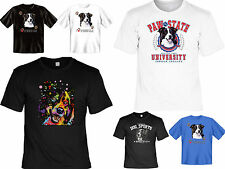 Border Collie Motiv T-Shirt - Hunderassen Border Collie T-Shirt Hütehund Motiv