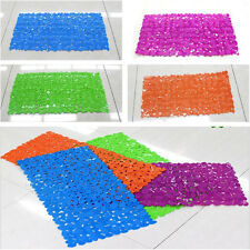 High Quality Large Strong Suction Anti Non Slip Bath Shower Mat Rugs - Pebble