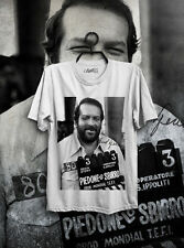 T-SHIRT MAGLIETTA BUD SPENCER BOMBER PIEDONE ITALIAN CULT MOVIE BULLDOZER