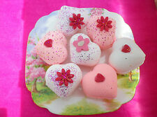 10  LUSH Smelling Large Heart Bath Bombs Fizzy Special Offer ONLY £8.99