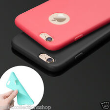 PREMIUM CANDY SOFT SILICONE RUBBERISED TPU BACK COVER CASE FOR ALL APPLE IPHONES