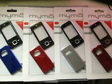 MOBILE PHONE FASCIA / HOUSING / COVER & KEYPAD FOR NOKIA N81 - 4 COLOUR CHOICES