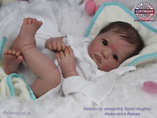 """20-21"""" UNPAINTED REBORN DOLL KIT, WITH OR WITHOUT BODY-  """"DYLAN"""""""