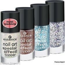 1 VERNIS A ONGLES DE FINITION / TEINTES / NAIL ART EFFECT TOPPER 8 ml - ESSENCE
