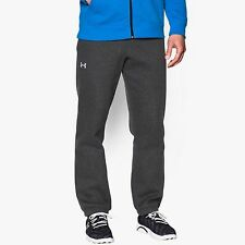 Under Armour Mens Storm Rival Cuffed Fleece Pant – Carbon/White