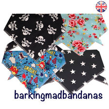 Dog Bandanas, Dog Bandana, Bandanas UK, Neck Scarf, Dog Clothing, Dog Supplies