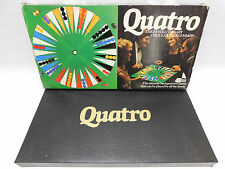 Quatro Board Game Circular Backgammon 1982 Contents Sealed VGC 100% Complete
