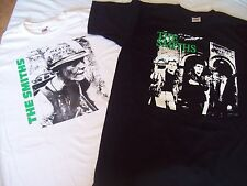 MENS THE SMITHS MORRISSEY T SHIRT TWIN SET MEAT IS MURDER & SALFORD LADS