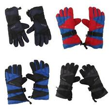 Pair Windproof Mens Motorcycle Cycling Ski Snow Snowboard Winter Warm Gloves