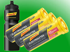 (14,58€/100g)   3 x PowerBar 5Electrolyte Isotonic Sports Drink + Trinkflasche