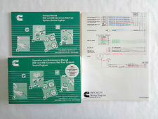 cummins owners & operation maintenance manuals isbe & isb + wiring diagram