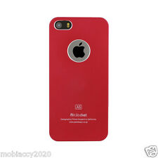 Air Jacket Metallic Hard Plastic Matte Finish Case Cover for Apple iPhone 5