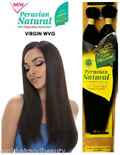 Janet Collection Peruvian Natural 100% Virgin Remy Human Hair Natural Black