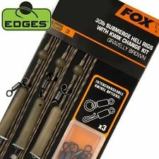Fox Edges Carp Fishing Ready Made Submerge Heli & Chod Rig Leaders