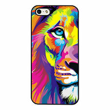 Colourful Lion Art Painting PHONE CASE COVER fits IPHONE 4s 5s 5c 6s 6+