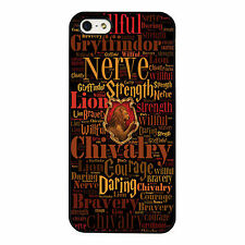 Gryffindor Harry Potter Hogwarts PHONE CASE COVER fits IPHONE 4s 5s 5c 6s 6+