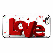 Love Hearts Red Romance PHONE CASE COVER fits IPHONE 4s 5s 5c 6s 6+