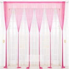 1M*2M Glass Tassel Fringe Decorated Curtain Door Window Hanging String Curtain
