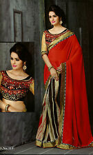 Bollywood Designer Sarees-Princess Catelog Saree With Heavy Work Blouse.......
