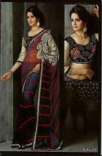 Bollywood Designer Sarees-Princess Catelog Saree With Heavy Work Blouse....