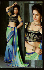 Bollywood Designer Sarees-Princess Catelog Saree With Heavy Work Blouse.....