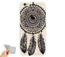 ETUI/COQUE iPHONE 5/5S/SE/5C/6/6PLUS/7 SILICONE ATTRAPE REVES DREAMCATCHER