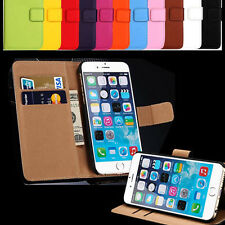 Handy Hülle für Apple iPhone Case Schutz Tasche Cover Basic Wallet Flip Etui