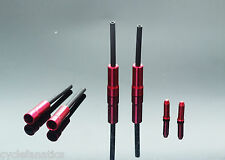 BIKE BRAKE or GEAR FERRULES OUTER CASING CABLE END CAPS & WIRE END FIBRAX *SALE