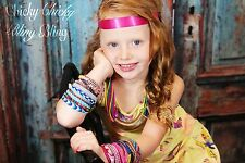 Woman Girls Tween Boho Magnetic Friendship Bracelets braided jewelry colorful