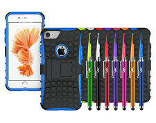 Apple iPhone Case Protective Strong ShockProof Tough Hard Back Case Cover Stand