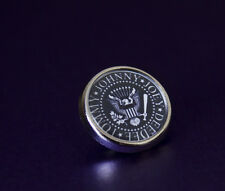 Cool The Ramones Tie/Lapel Pin Badge Choose Silver or Gold