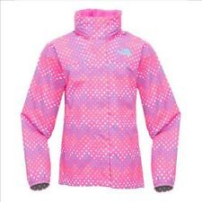The North Face Ragazze Dottie Resolve Giacca impermeabile linaria fucsia L-XL