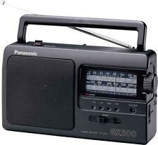New Panasonic RF3500 FM/LW/MW/SW 4 Band Portable  Radio ~Mains / Battrey RF-3500