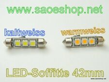 LED Soffitte / 42mm / 10-30V/DC / 3SMD / 0,5W / kaltweiss & warmweiss