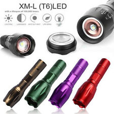 5000lm XM-L T6  CREE LED Zoombare Taschenlampe  Lampen Jagd Licht 18650/AAA