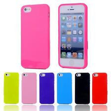 * For Apple iPhone 6,6S * Jelly Soft TPU Silicone Back Case Cover