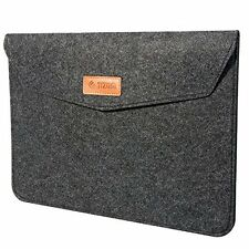 TIZUM Premium Felt Laptop Sleeve (Slate Grey)