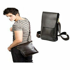 Vintage Messenger Shoulder Bag Canvas for Laptop Crossbody Messenger Satchel