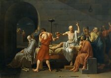 Jacques Louis David: The Death of Socrates. Art Print (102211)