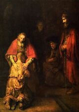 Rembrandt: The Return of the Prodigal Son. Art Print/Poster (102300)