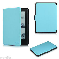 "ProElite Flip case cover for Amazon Kindle E Reader 6"" 8th Generation 2016 Blue"