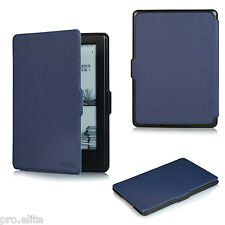 "ProElite Flip case cover for Amazon Kindle E Reader 6"" 8th Generation 2016 Nblue"