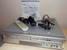 DAEWOO DVD Recorder / Video Cassette Recorder DF-4100P Combo Copy VHS to DVD