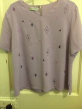 Stunning Jacques Very Top Size 16 Bnwot