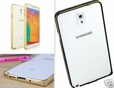 Dual Tone Metal Bumper Case Cover For Samsung Galaxy Note 3 Neo N7505