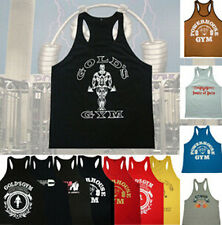 Golds Gym Stringer Tank Top Men Bodybuilding Clothing And Fitness Mens Sleevel 0