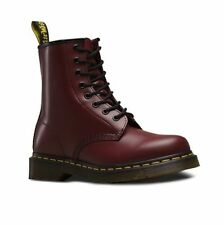Dr Martens 1460Z cherry red 8-eyelet classic Airwair DM boot size 3-15UK