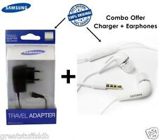100% Original Samsung Micro USB Charger/Charging Cable/Earphones Optional