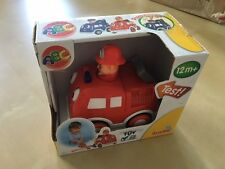 Baby Toy car Fire truck Police car from Simba Press and Go